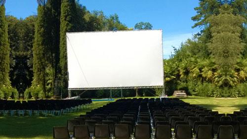 Schermo cinema autoportante Premio Sergio Amidei Gorizia