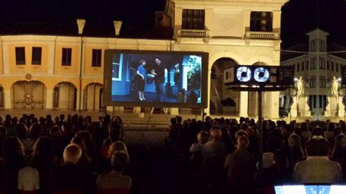 Allestimento cinematografico Palmanova Udine