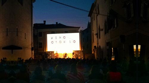 Digitalna projekcija filma Kino Otok Izola cinema