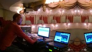 Proiezione digitale Teatro Goldoni Venezia