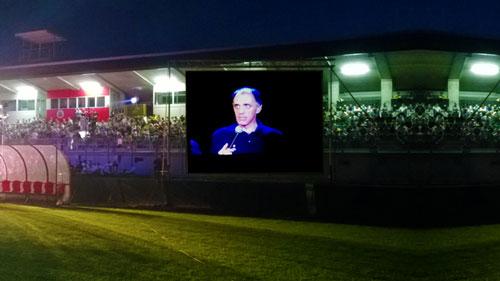 Videoproiezione stadio Cittadella Calcio